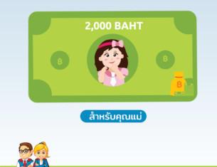 โปรโมชันต้อนรับวันแม่ รับส่วนลดมูลค่ามากสุดถึง 2000 บาท