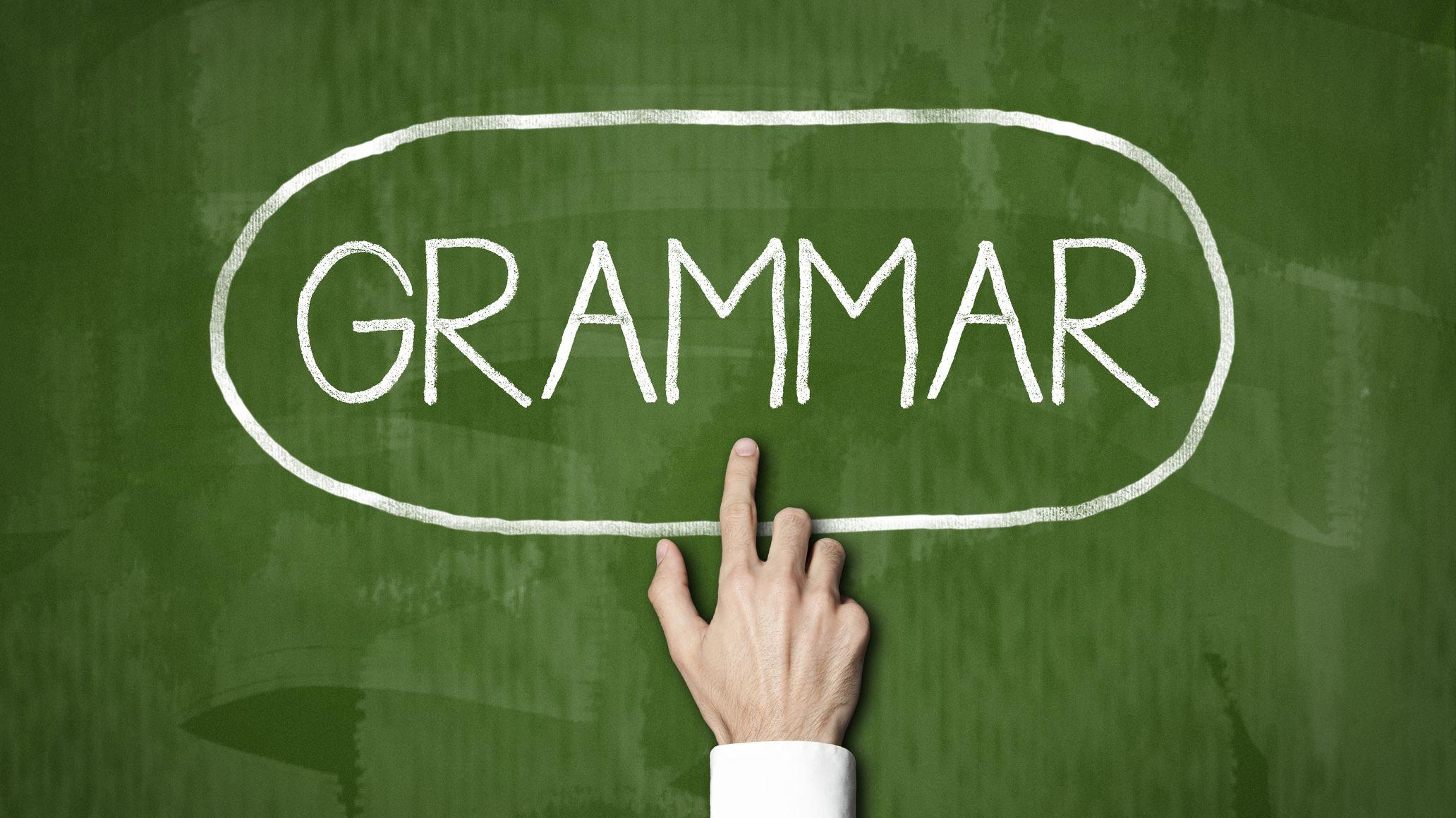 ประโยคแกรมม่าที่มักเขียนผิดบ่อยในภาษาอังกฤษ